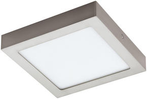 SKÅPBELYSNING - nickelfärgad, Basics, metall/plast (22,5/22,5/3,5cm)