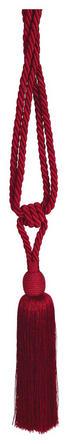 RAFFHALTER 70 cm - Dunkelrot, KONVENTIONELL, Textil (70cm)