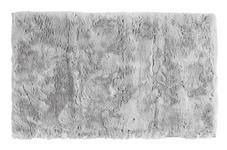 BADEMATTE  Silberfarben  60/100 cm     - Silberfarben, Design, Kunststoff/Textil (60/100cm) - Esposa