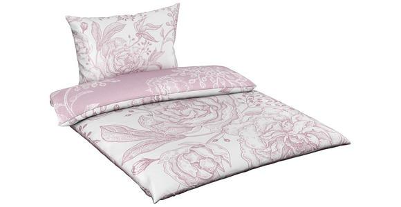 BETTWÄSCHE 140/200 cm  - Rosa, Trend, Textil (140/200cm) - Esposa