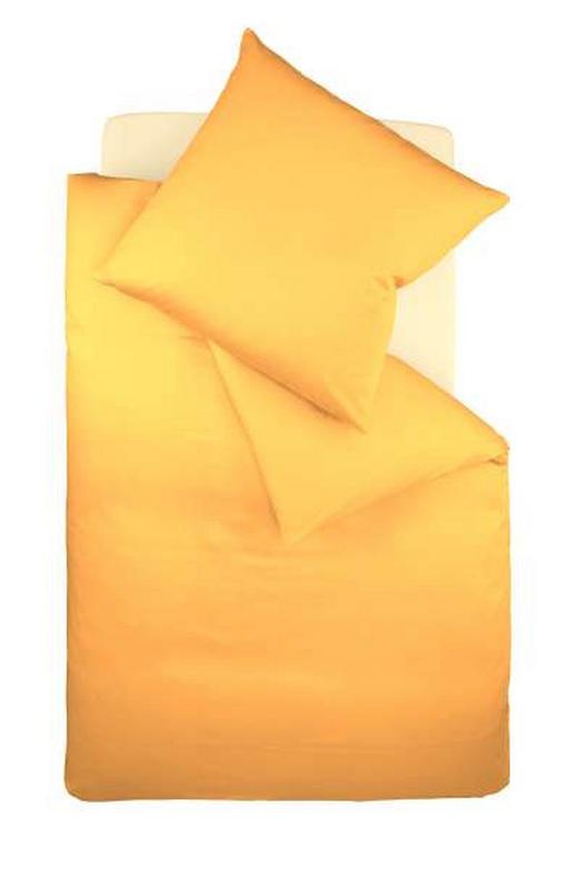 BETTWÄSCHE Makosatin Goldfarben 135/200 cm - Goldfarben, Basics, Textil (135/200cm) - FLEURESSE