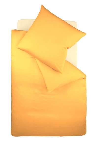 BETTWÄSCHE Makosatin Goldfarben 155/220 cm - Goldfarben, Textil (155/220cm) - FLEURESSE