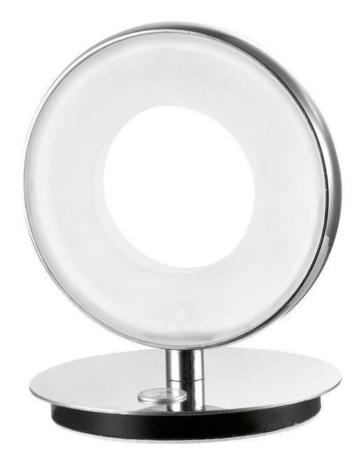 LED-TISCHLEUCHTE - Chromfarben, Design, Kunststoff/Metall (16/16/18cm) - Joop!
