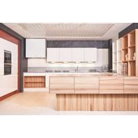 EINBAUKÜCHE - MODERN, Holzwerkstoff - Dan Küchen