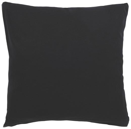 KISSENHÜLLE Schwarz 80/80 cm - Schwarz, Basics, Textil (80/80cm) - SCHLAFGUT