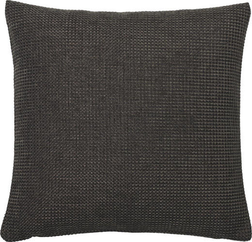 KISSENHÜLLE Anthrazit 50/50 cm - Anthrazit, Basics, Textil (50/50cm)