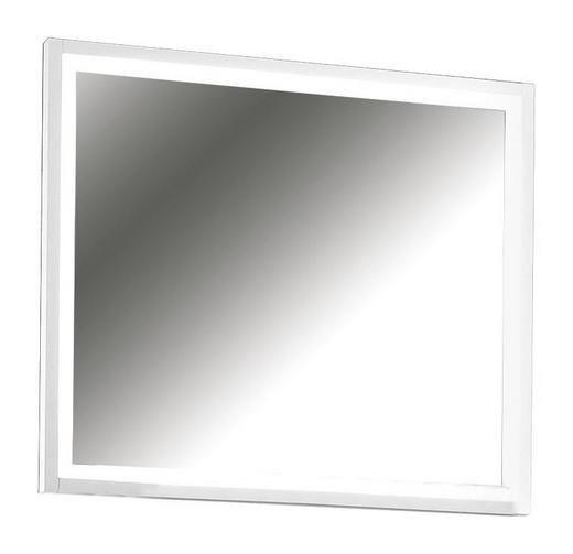 SPIEGEL - Weiß, Design, Glas/Holzwerkstoff (91/80/6cm) - CASSANDO