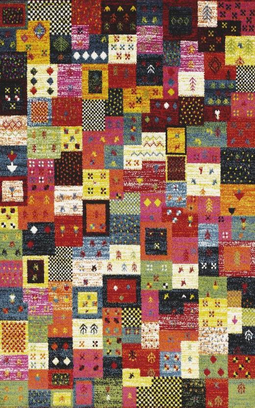 WEBTEPPICH - Multicolor, LIFESTYLE, Textil (200/290cm) - Novel