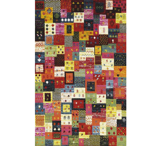 WEBTEPPICH - Multicolor, LIFESTYLE, Textil (65/130cm) - Novel