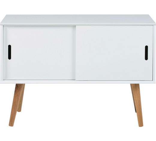 KOMMODE 100/68,2/38 cm - Weiß/Naturfarben, LIFESTYLE, Holz/Holzwerkstoff (100/68,2/38cm) - Carryhome