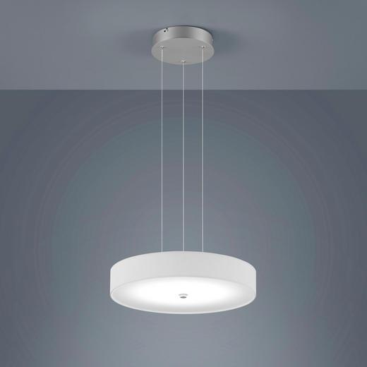 LED-HÄNGELEUCHTE - Chromfarben/Nickelfarben, Design, Metall (45/210cm) - Helestra
