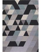 HANDWEBTEPPICH - Anthrazit/Silberfarben, Basics, Textil (130/190cm) - Esprit