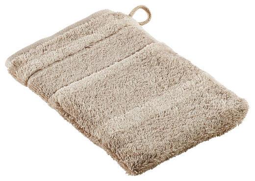 WASCHHANDSCHUH  Sandfarben - Sandfarben, Basics, Textil (16/22cm) - Cawoe