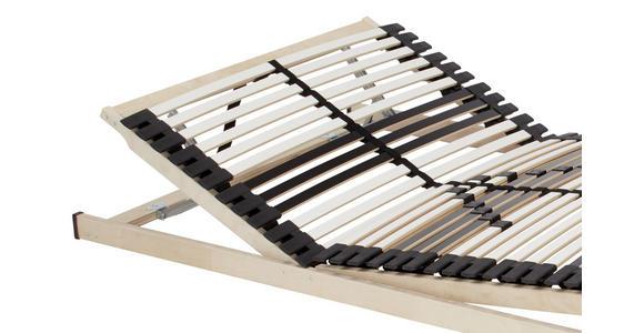 Lattenrost 90x200 cm - Schwarz/Weiß, Holz (90/200cm) - Primatex