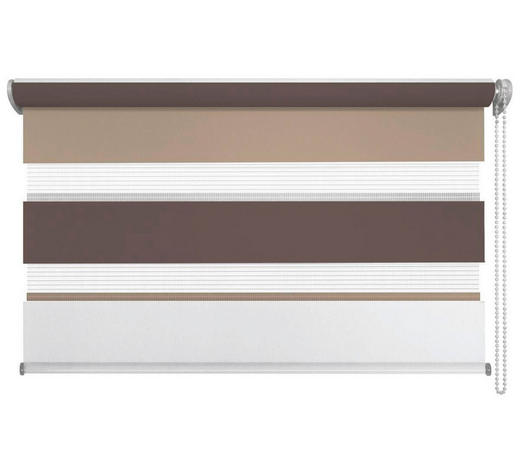 DUOROLLO 60/160/ cm - Hellbraun/Dunkelbraun, Design, Textil (60/160cm) - Homeware