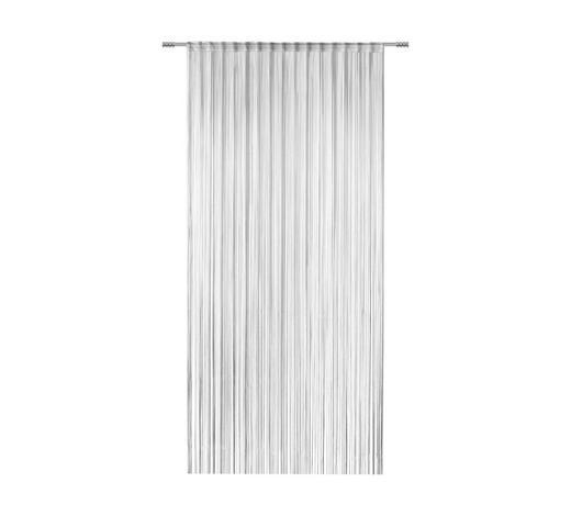 FADENSTORE transparent  - Schwarz, KONVENTIONELL, Textil (100/260cm) - Esposa