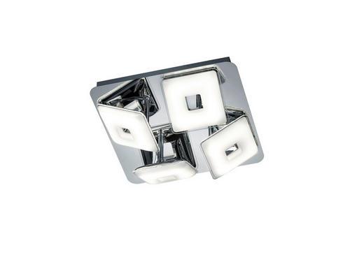 STROPNA LED SVETILKA PONTIUS - krom, Design, kovina/umetna masa (27,50/9,0/27,5cm)