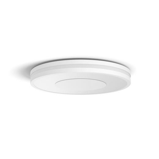 LED-Deckenleuchte HUE BEING - Weiß, Design, Kunststoff/Metall (34,8/5,1/34,8cm) - PHILIPS