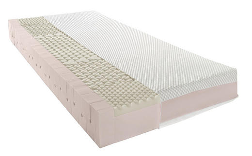 MATRATZE - Weiß, Basics, Textil (120/200cm) - Novel