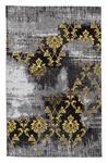 HOCHFLORTEPPICH  70/140 cm   Gelb, Grau - Gelb/Grau, Basics, Textil (70/140cm) - Novel