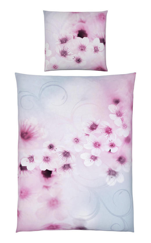 BETTWÄSCHE Satin Rosa 135/200 cm - Rosa, KONVENTIONELL, Textil (135/200cm) - Ambiente