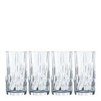 LONGDRINKGLAS 4-teilig  - Klar, KONVENTIONELL, Glas (7,1/15,2cm) - Nachtmann