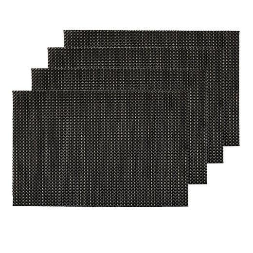 Tischset 4er Set - Braun, Design, Textil (30/45cm) - Homeware