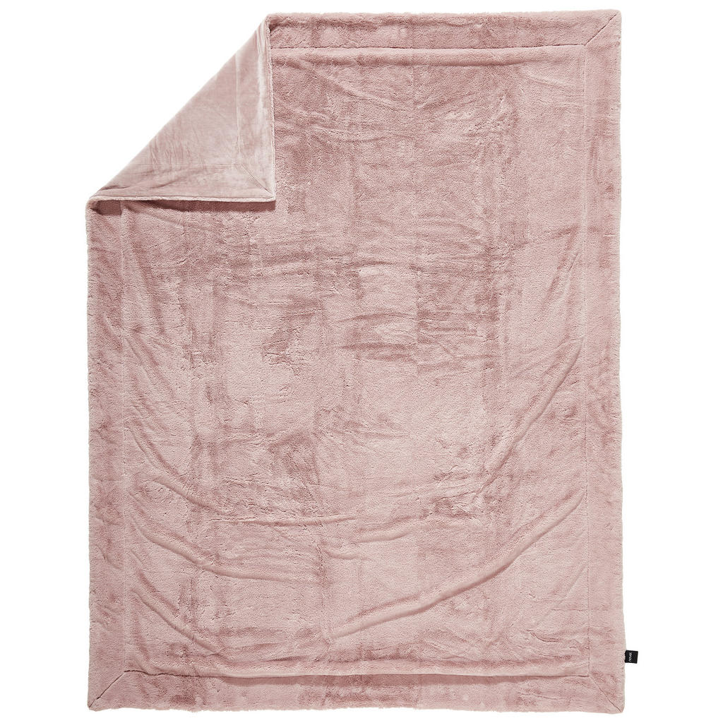 Novel Felldecke 150/200 cm pink