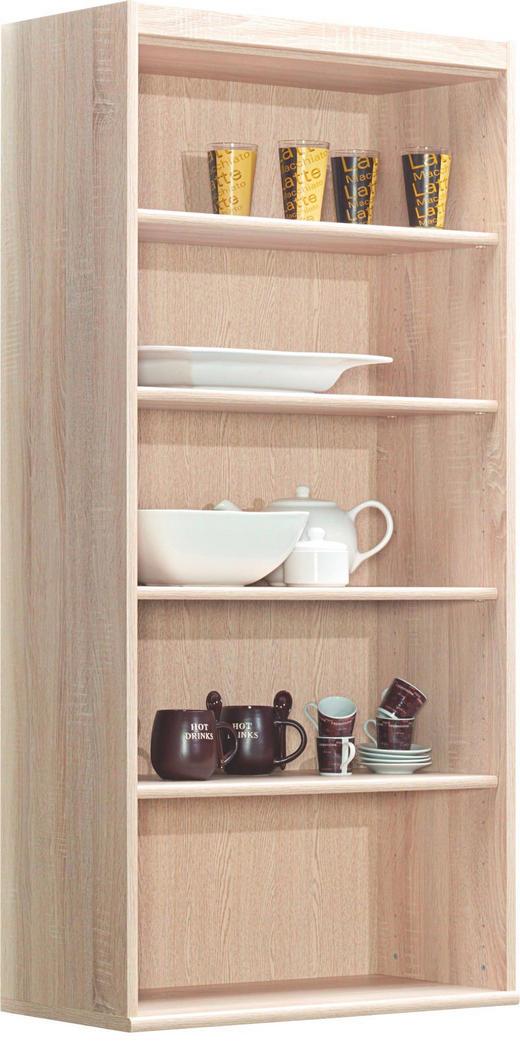 REGAL - boje hrasta, Konvencionalno, drvni materijal (72/148/36cm) - CS SCHMAL