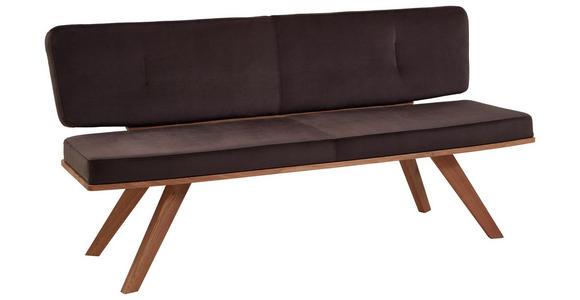 SITZBANK 180/83/60 cm  in Braun, Eichefarben - Eichefarben/Braun, Natur, Holz/Textil (180/83/60cm) - Valnatura