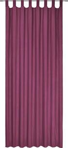 ZAVJESA S OMČAMA - ljubičasta, Konvencionalno, tekstil (135/245cm) - BOXXX