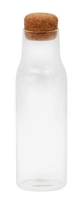 VATTENKARAFF - transparent/naturfärgad, Basics, ytterligare naturmaterial/glas (0,9l)