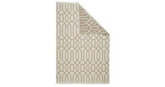 FLACHWEBETEPPICH - Beige/Braun, Design, Textil (80/150cm) - Novel
