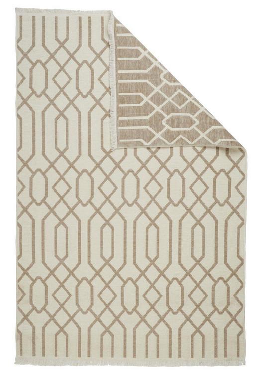 FLACHWEBETEPPICH  80/150 cm  Beige, Braun - Beige/Braun, Design, Textil (80/150cm) - Novel