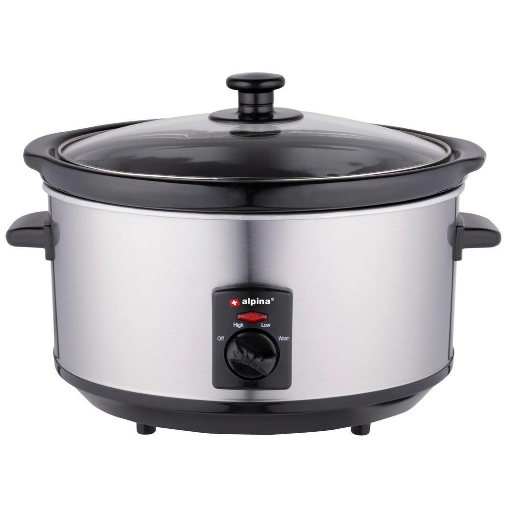 XXXLutz Slow cooker alpina edelstahl 3,5 l