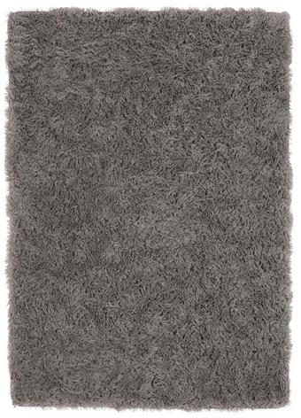 TEPIH VISOKOG FLORA - siva, Design, tekstil (60/115cm) - Boxxx