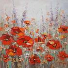 Blumen, Landschaft & Natur, Pflanzen ÖLGEMÄLDE - Multicolor, Basics, Holz/Textil (100/100cm) - MONEE