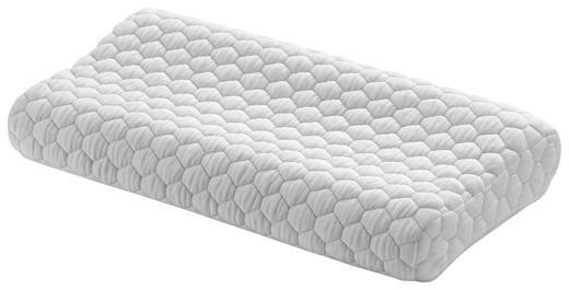 NACKENKISSEN Doppeltuch Viskoelastischer Kern - Weiß, Basics, Textil (62/32cm) - Novel