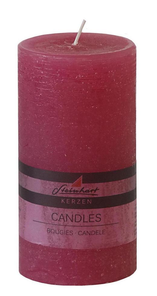 STUMPENKERZE - Pink, Basics (7,8/15cm) - Ambia Home