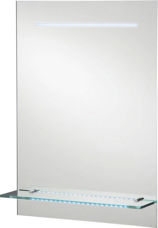 WANDSPIEGEL - Design, Glas (60/80/17cm)