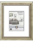 RÁM NA OBRAZY, 39/33/1.65 cm, barvy stříbra - barvy stříbra, Konvenční, umělá hmota/sklo (39/33/1.65cm)