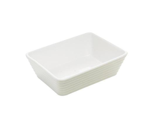 AUFLAUFFORM 18/13,5/5 cm - Weiß, Basics, Keramik (18/13,5/5cm) - Homeware Profession.