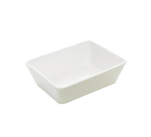 AUFLAUFFORM Keramik Porzellan  - Weiß, Basics, Keramik (18/13,5/5cm) - Homeware Profession.