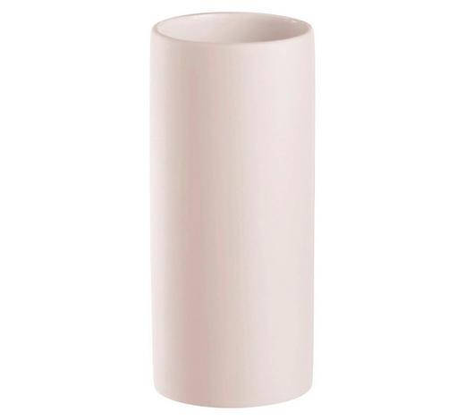 ZAHNPUTZBECHER Keramik  - Weiß, Basics, Keramik (5,5/10/5,5cm) - Kleine Wolke