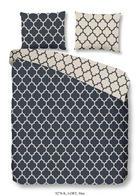 BETTWÄSCHE Satin Blau 135/200 cm - Blau, Basics, Textil (135/200cm)