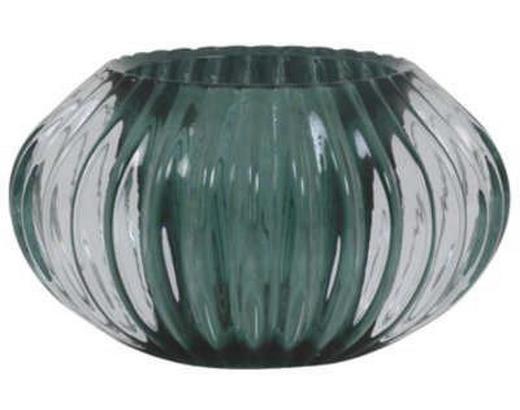 TEELICHTGLAS - Grün, Design, Glas (11/6,5cm)
