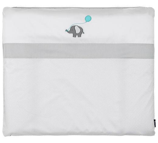 WICKELAUFLAGE 85/70 cm  - Weiß, Basics, Textil (85/70cm) - Alvi