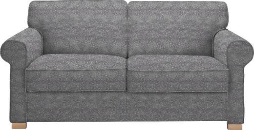 SCHLAFSOFA Grau - Buchefarben/Grau, LIFESTYLE, Holz/Textil (180/86/97cm) - NOVEL