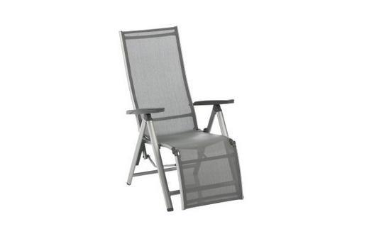 GARTEN-RELAXSESSEL - Anthrazit/Silberfarben, Design, Textil/Metall (81/64/116cm) - Kettler HKS