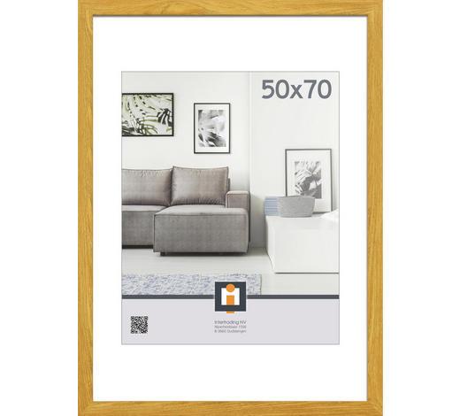 RÁM NA OBRAZY, 53/73/1,5 cm, bílá - bílá, Basics, umělá hmota/sklo (53/73/1,5cm)